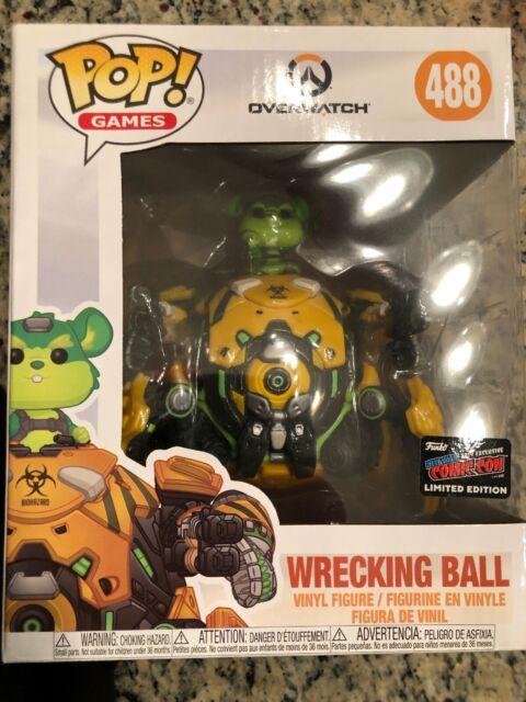 Overwatch 2019, Toy NUEVO Games: Wrecking Ball 6 Funko Pop