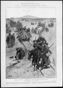 1897-Antique-Print-GRECO-TURKISH-WAR-Battle-Velestino-Wounded-Fighting-82