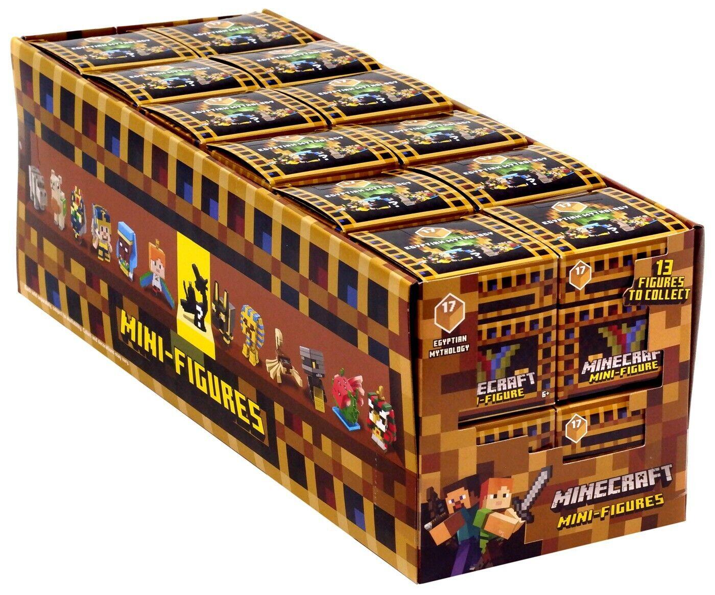 Minecraft Egyptian Mythology Series 17 Mystery Minis Blind Box