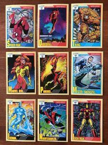 1991 Marvel Universe series 2 pick 10 cards Complete Your Set Buy 2 Get 5