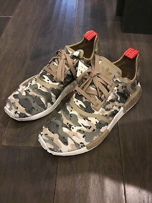 Adidas NMD R1 Camo Pack Mens G27915 Clear Brown Boost Running Shoes Size 10 New   eBay