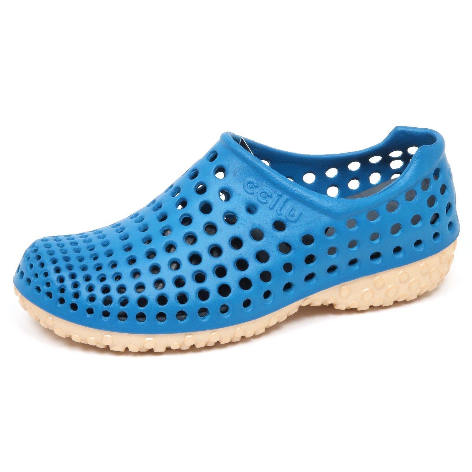 E8174 (WITHOUT BOX) sneaker uomo rubber blu CCILU CELL sandal slip on shoe man