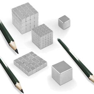 50x-Starke-Neodym-Supermagnete-Magnete-Quader-Wuerfel-Cube-Magnet-N45-5x5x5mm