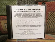 YO-YO MA and TAN DUN - The Crouching Tiger, Hidden Dragon interview - SONY CD