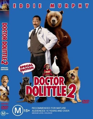 1 of 1 - Dr Dolittle 02 (DVD, 2004) Eddie Murphy R4 Aust Brand New Sealed Free Shipping