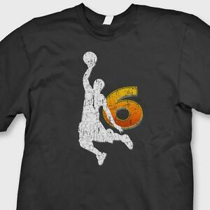 45f6d8ad LeBron James Miami Heat Champion T-shirt NBA King James 6 Dunk Tee ...