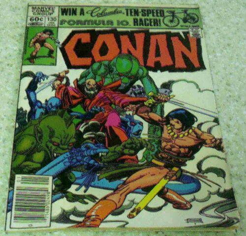1982 Gil Kane art 33/% off Guide! NM- Conan the Barbarian 130 9.2