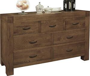 Image Is Loading Sandringham Solid Dark Oak Bedroom Furniture Large Wide