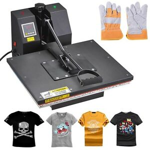 16x20 digital sublimation heat press machine transfer for Cheap t shirt printing next day delivery