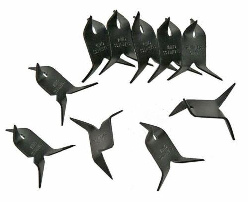 NINJA CALTROPS Spikes Tactical MAKIBISHI TETSUBISHI Black 10 Pack