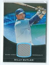 2011 Triple Threads Billy Butler Unity GU JERSEY RELIC 23/27 ROYALS