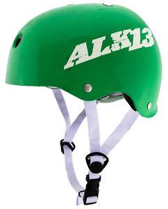 ALK-13-Helm-Gruen-Gr-S-Skateboard-Wakeboard-Wasserski-Inline-alk13