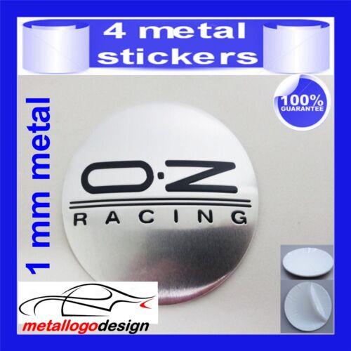 METAL STICKERS WHEELS CENTER CAPS Centro LLantas 4pcs OZ RACING 10