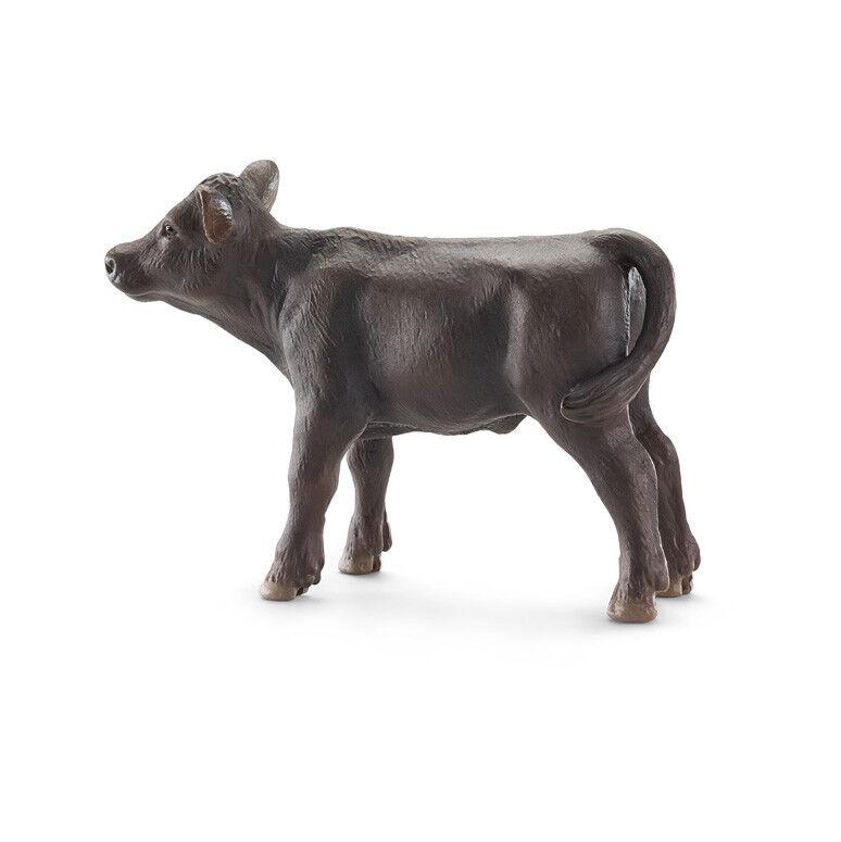 10-1-5 Schleich (13768) Neg Angus Ternero Animales Animales Animales Vaca Ternerito 6383ff