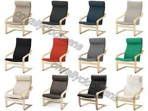 Poltrona Reclinabile Con Poggiapiedi Ikea.Poltrona Relax Poang Ikea Vari Tessuti E Pelle Impiallacciatura Di