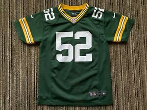 Details about NFL Green Bay Packers Clay Matthews #52 Boys Nike On Field YOUTH Jersey Sz M