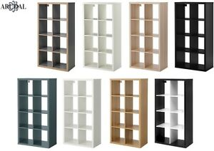 Image is loading IKEA-KALLAX-8-Shelving-Unit-Display-Storage-Bookcase-