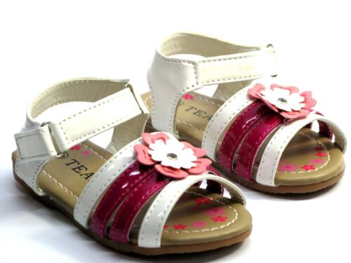 New Adorable Baby Toddler Girls Sandals Spring Summer Four colors Size 4-9