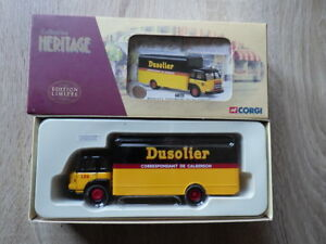 CORGI-Collection-Heritage-71504-Renault-JL-20-Fourgon-DUSOLIER-CALBERSON
