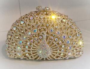 Evening handgemaakte Luxury Clutch Purse Crystal handtas 8nz8gqW