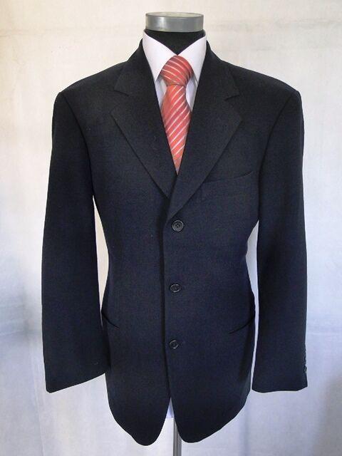 Hugo Boss Sakko Einstein Einreiher Dunkelblau Unifarben Schurwolle Gr. 48       Verschiedene Waren    Merkwürdige Form    Louis, ausführlich