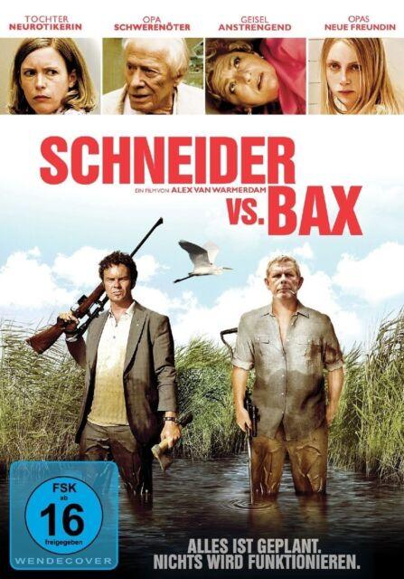 SCHNEIDER VS. BAX DEWISPELAERE,TOM/WARMERDAM,ALEX/KRAAKMAN,MARIA/+  DVD NEUF