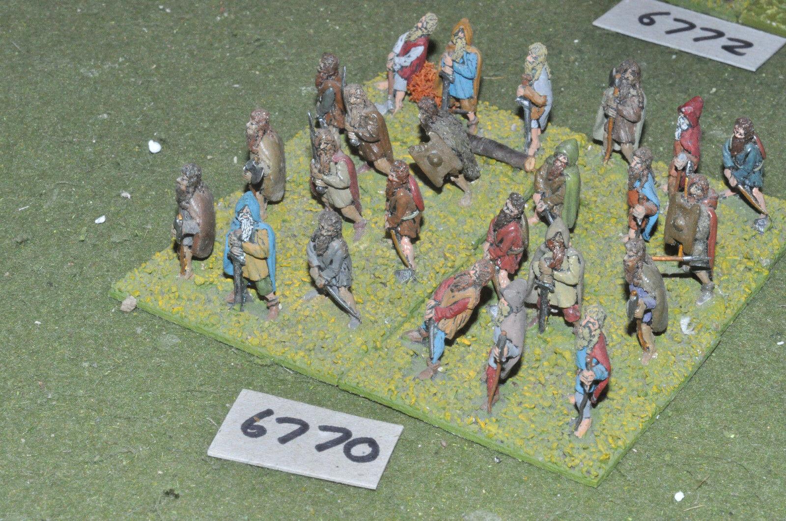 25mm mittelalterlichen   anbieten (24) - anbieten (krieger metall gemalt - inf (6770)