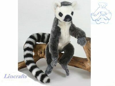 Ringtail Lemur Plush Soft Toy by Hansa Sold by Lincrafts. 5505 CLEARANCE SALE