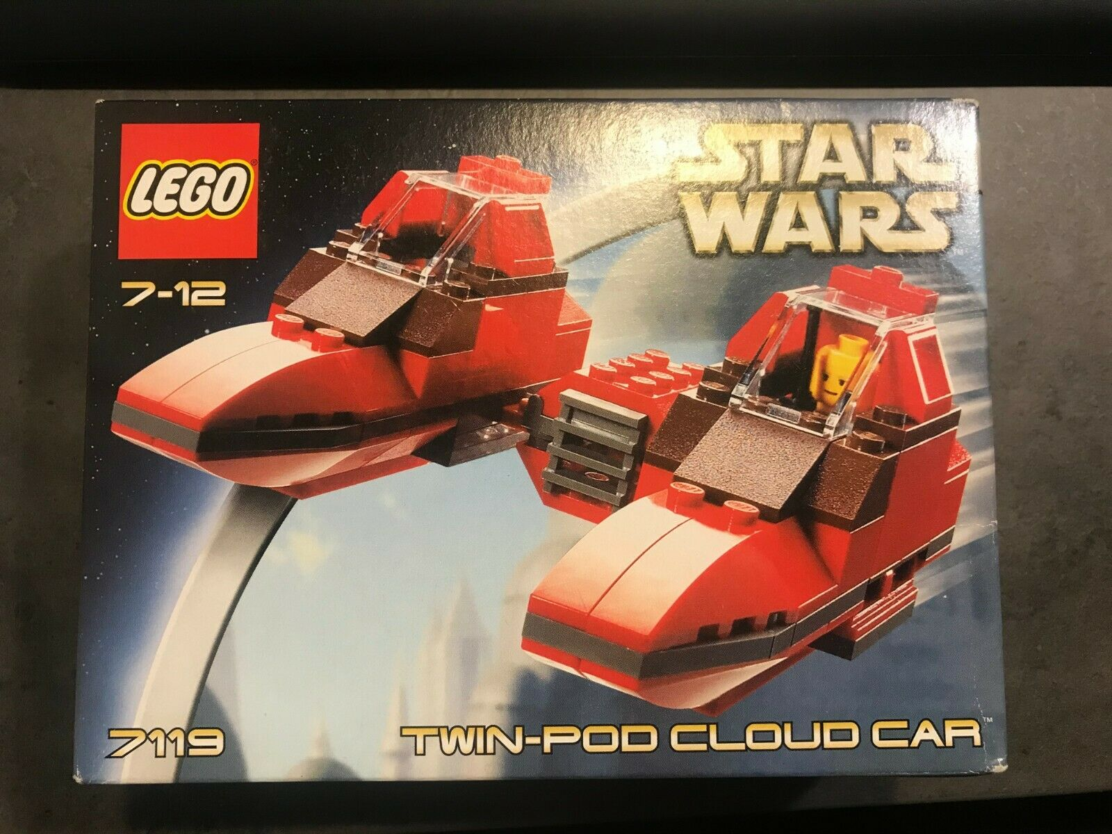Lego Star Wars 7119 Twin-Pod Cloud Car
