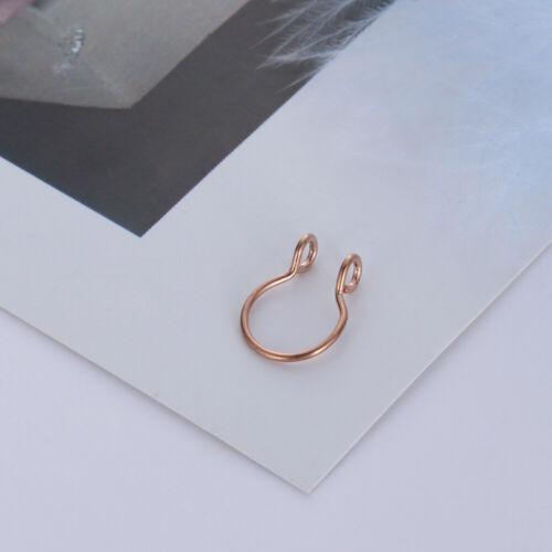 cilp auf reifen faux nasenscheidewand falsche nase ring leiche schmuck