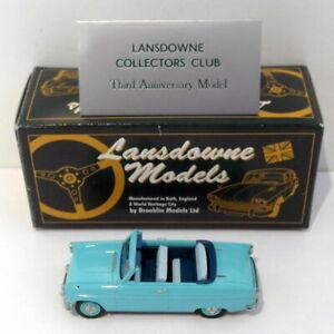 Lansdowne-escala-1-43-LDM23X-1962-Ford-Consul-Mk-II-LCC-Caribe-turquesa