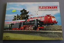 X067 FLEISCHMANN Train catalogue Ho N Rallye Monte Carlo 1988 89 188 pages F
