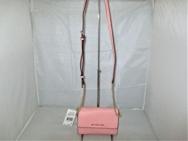 Michael Kors Jet Set Large Saffiano Leather Phone Cross Body. Shoulder Bag $168