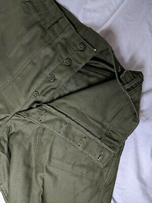 Military Pants Cotton Sateen Army Utility Trousers  OG-107