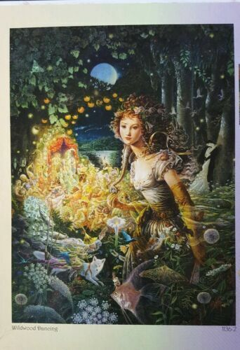 Puzzles Cybeles Secret Ceaco Enchanting Shimmer Jigsaw Puzzles