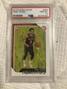 2018-19-Panini-Hoops-Trae-Young-RC-Psa-10