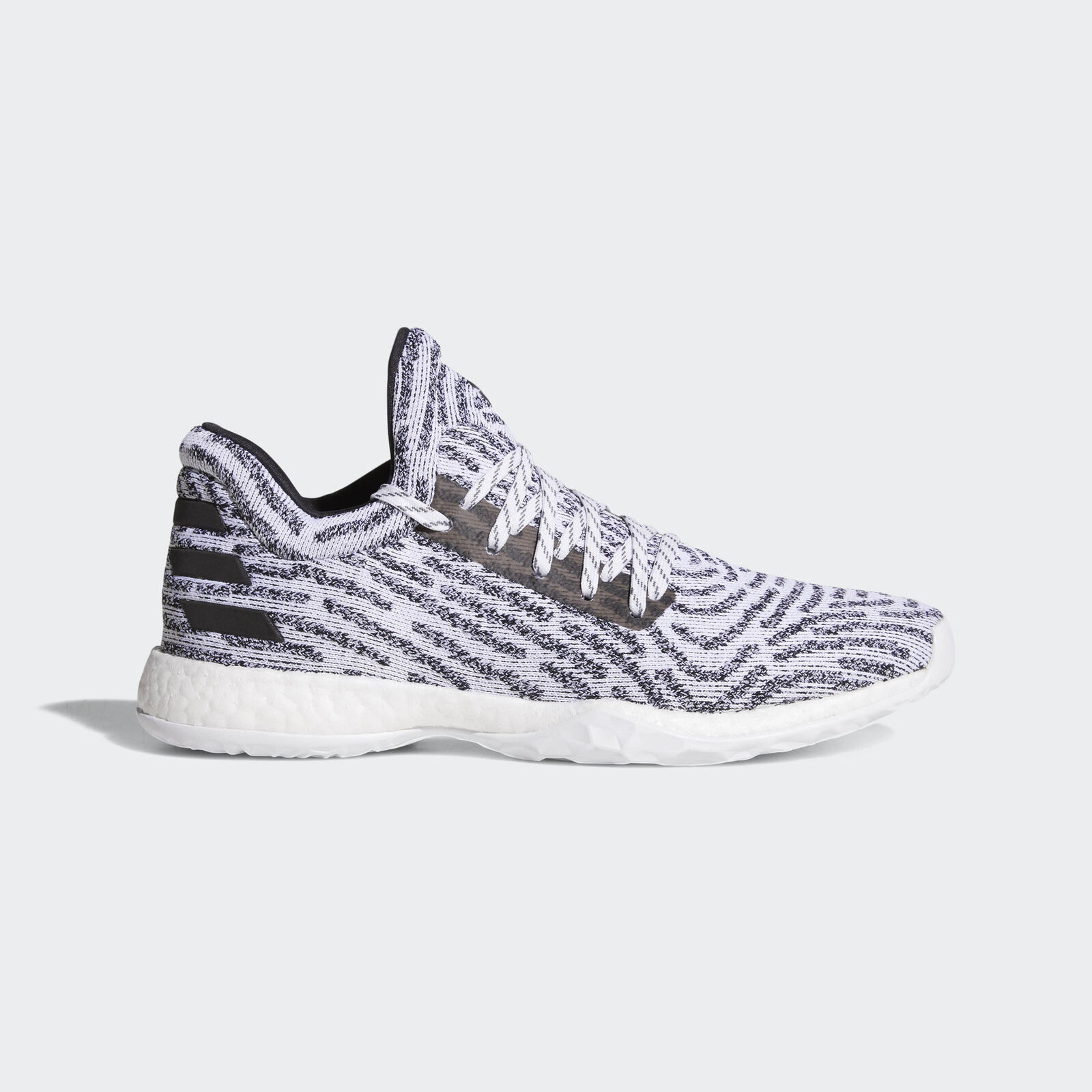 Adidas Harden Vol. 1 LS Primeknit [AC8407] Men Basketball Shoes White/Black