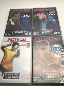 honk-kong-legends-dvds-bruce-lee-jackie-chan-chow-yun-fat-all-sealed