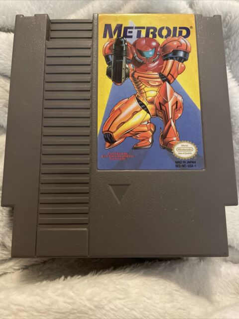 Metroid (NES, 1987) Nintendo Entertainment System Yellow Label Excellent Cond.