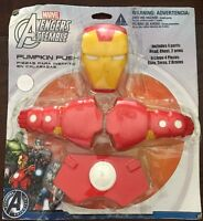 Iron Man Marvel Avengers Superhero Halloween Party Pumpkin Push-in Decoration