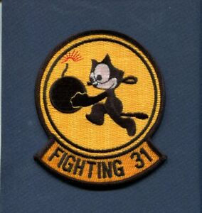 VF-31 TOMCATTERS Felix US NAVY F-14 Tomcat Fighter Squadron Patch