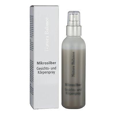 Microsilber Gesichts Körperspray 100 ml Silberspray Microsilver Mikrosilber