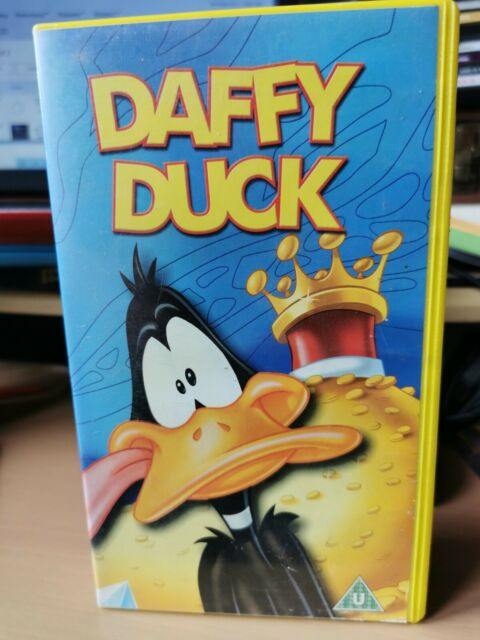 Looney Tunes - Daffy Duck (VHS, 2003)  SCARCE EX CONDITION VHS VIDEO  B4