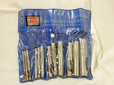 NEW LICOTA 12 PC HOLLOW PUNCH SET #HP12S