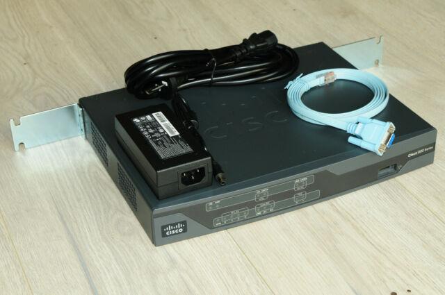 CISCO888-K9 G.SHDSL Sec Router w/ Rack Kit 1YrWty TaxInv