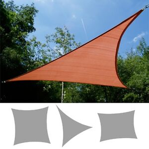 Image Is Loading Kookaburra Terracotta Breathable Shade Sail Garden Patio Sun