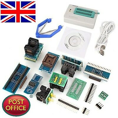 TL866CS Mini High Speed USB Universal Programmer With 9 pcs Adapters