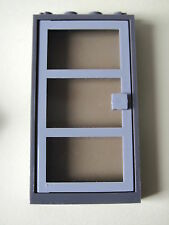 LEGO 30179c01 @@ Door Frame 1 x 4 x 6 Gray Door T-Black Glass 1349 1352 4851