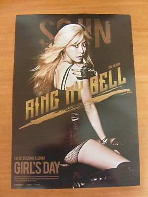 GIRL'S DAY - 2nd LOVE [SOJIN Ver.] CD w/Photo Booklet (96p) +Card +Unfold POSTER