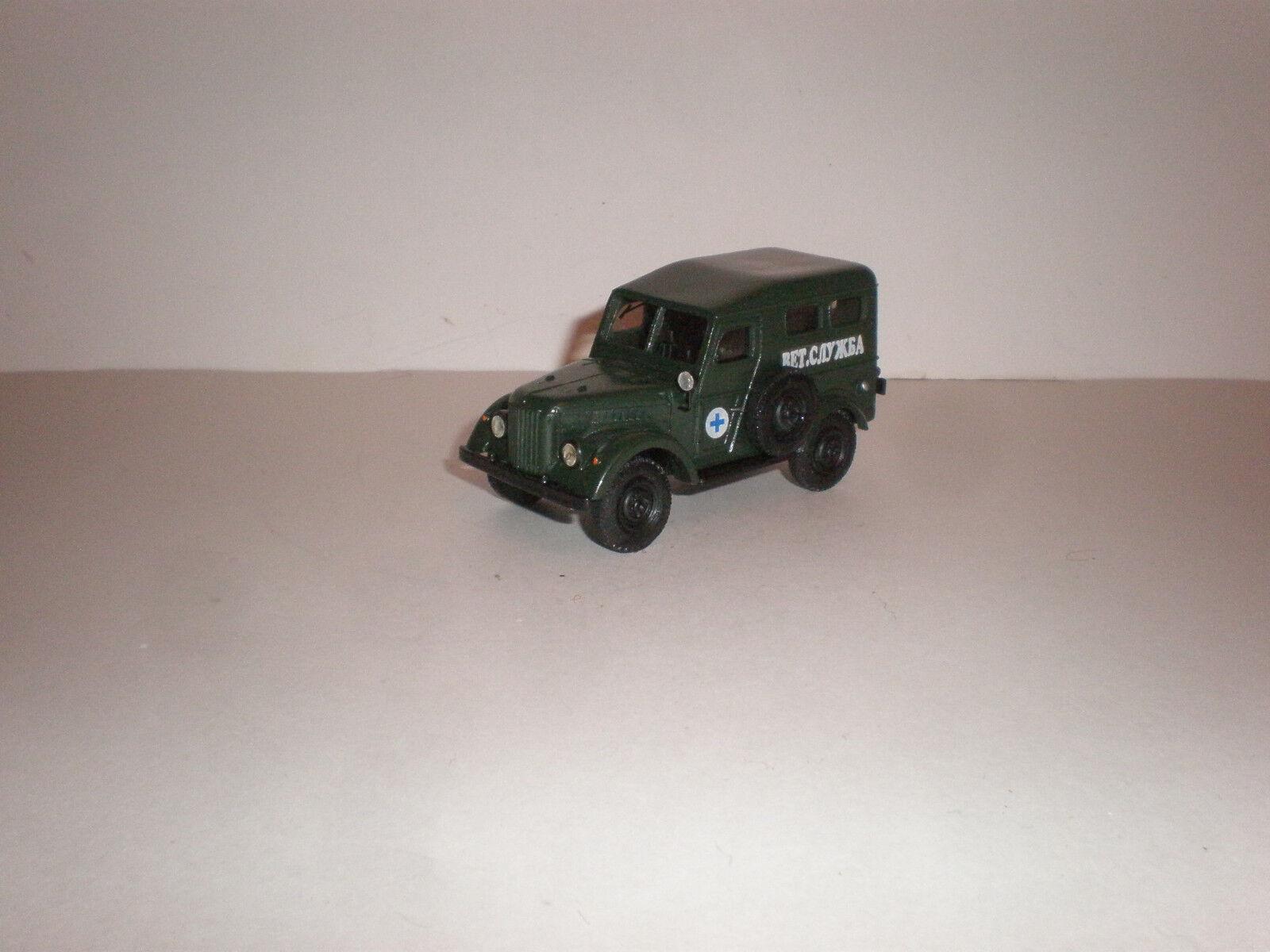 venta directa de fábrica Servicio veterinario ruso 1 43 43 43 Jeep GAZ-69 década De 1950  con 60% de descuento